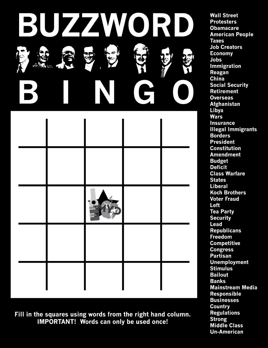 Bingo Buzzword